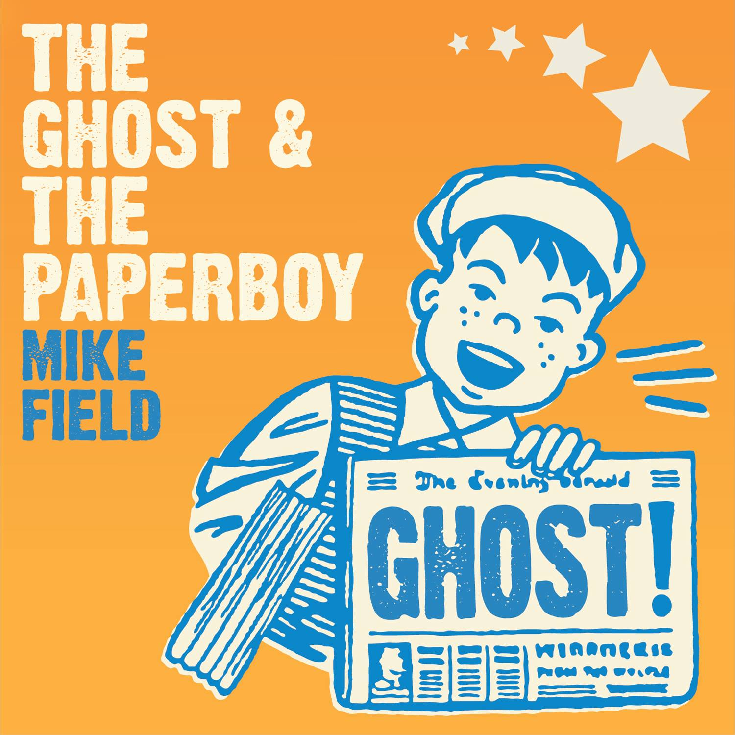 Mike Field, The Ghost And The Paperboy Album Artwork