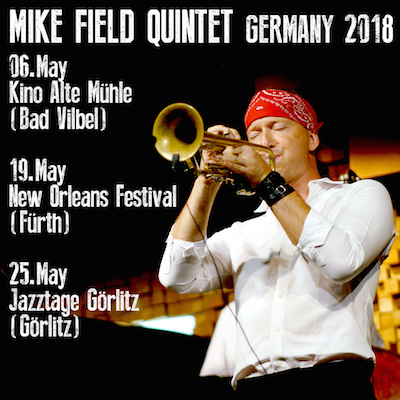Award-winning jazz musician from Canada, Mike Field, performs in Germany this May